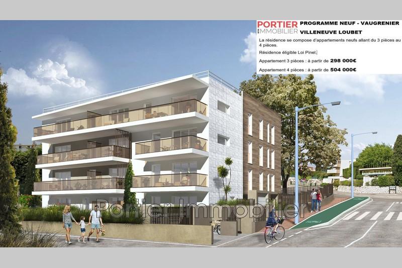 Photo Appartement Villeneuve-Loubet Villeneuve loubet plage,   achat appartement  3 pièces   62m²