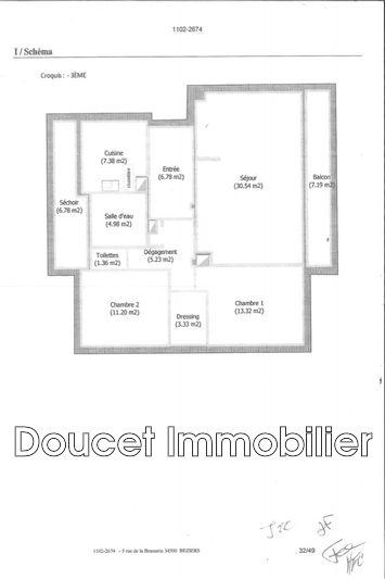 Photo n°10 - Vente appartement Béziers 34500 - 95 000 €