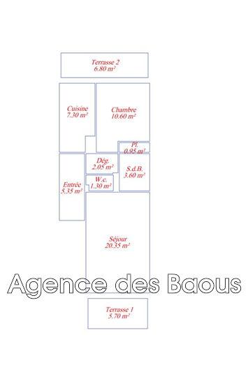 Photo n°7 - Vente appartement Vence 06140 - 150 000 €