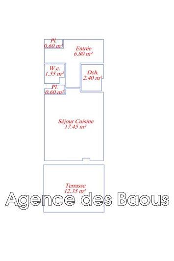 Photo n°5 - Vente appartement Vence 06140 - 98 000 €