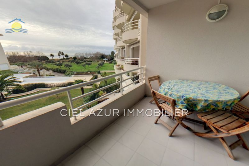 appartement  2 rooms  Juan-les-Pins Seaside  43 m² -