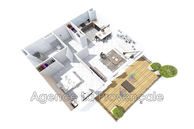Photo Appartement Montélimar Montélimar,   achat appartement  2 pièces   49m²