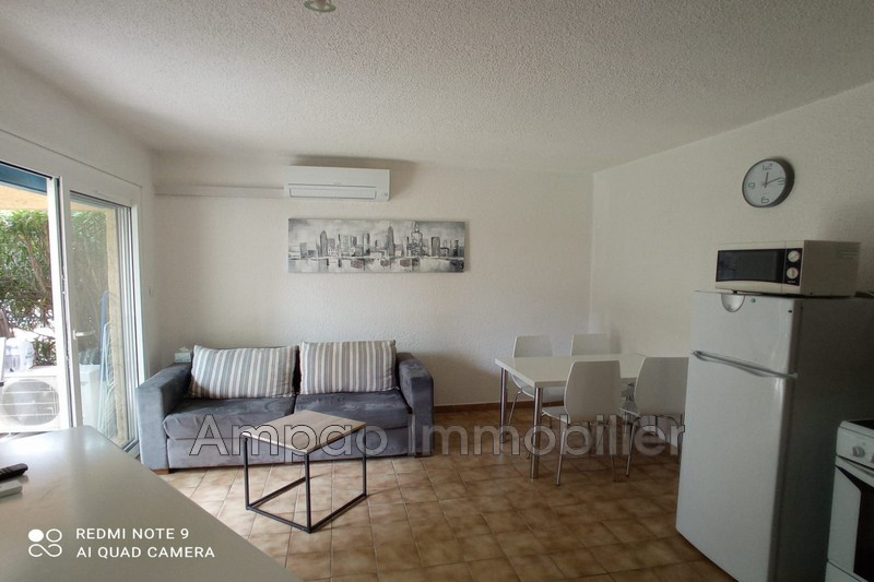 Photo Appartement Canet-en-Roussillon Proche plages,  Location saisonnière appartement  2 pièces   30m²