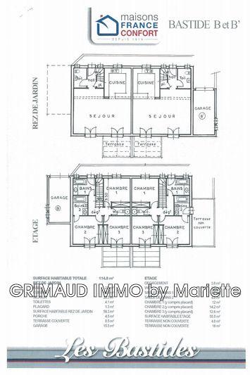 Photo n°3 - Vente Maison bastide Les Issambres 83380 - 427 000 €