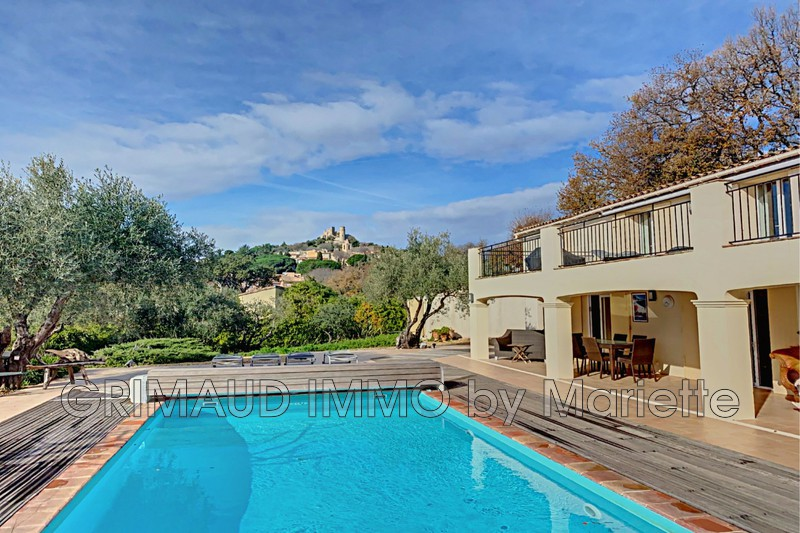 Photo Villa Grimaud Proche village,   to buy villa  4 bedroom   182 m²