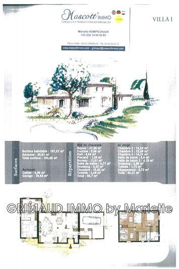 Photo n°4 - Vente Maison bastide Les Issambres 83380 - 515 000 €