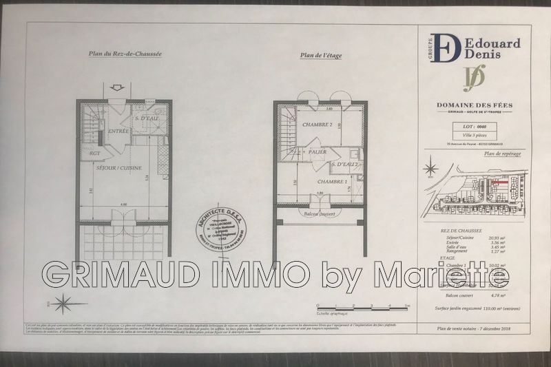 Photo n°4 - Vente maison de campagne Grimaud 83310 - 447 650 €