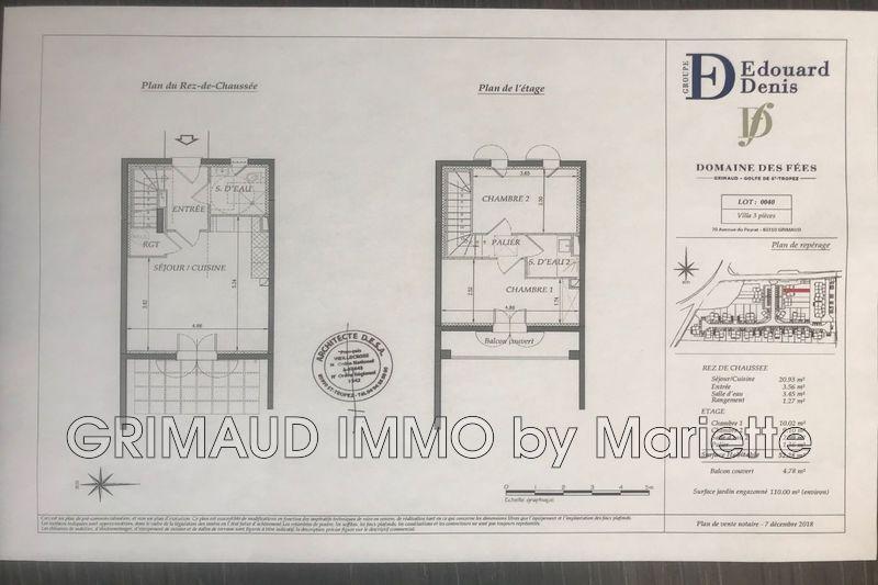 Photo n°4 - Vente maison de campagne Grimaud 83310 - 320 650 €