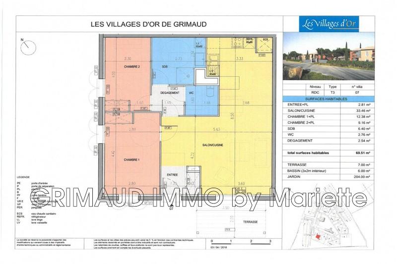 Photo n°4 - Vente Maison villa Grimaud 83310 - 435 600 €