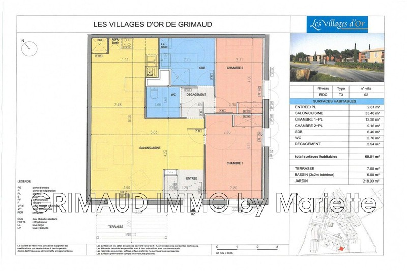 Photo n°3 - Vente Maison villa provençale Grimaud 83310 - 472 100 €