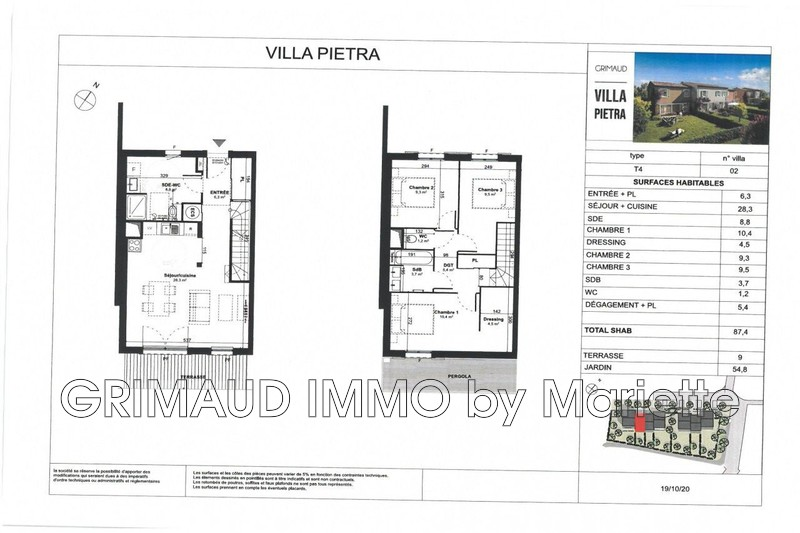 Photo n°2 - Vente maison Grimaud 83310 - 387 000 €