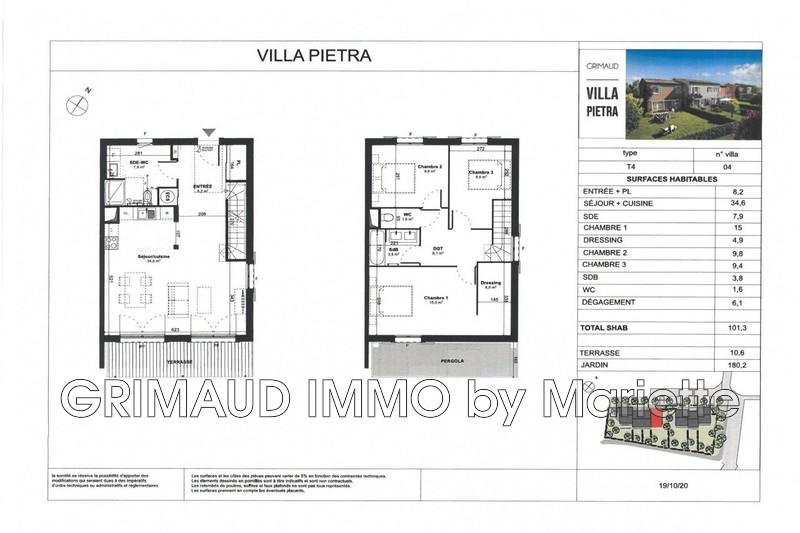 Photo n°2 - Vente maison Grimaud 83310 - 455 000 €