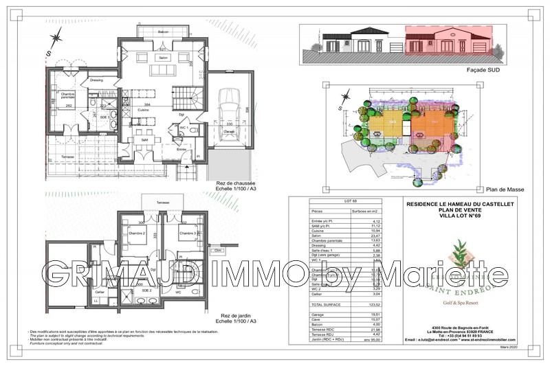 Photo n°2 - Vente Maison villa provençale La Motte 83920 - 640 000 €