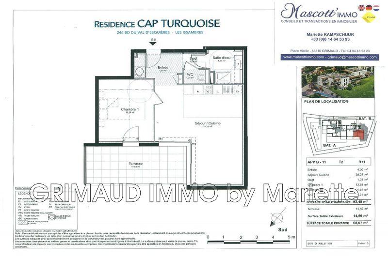 Photo n°5 - Vente appartement Les Issambres 83380 - 395 000 €