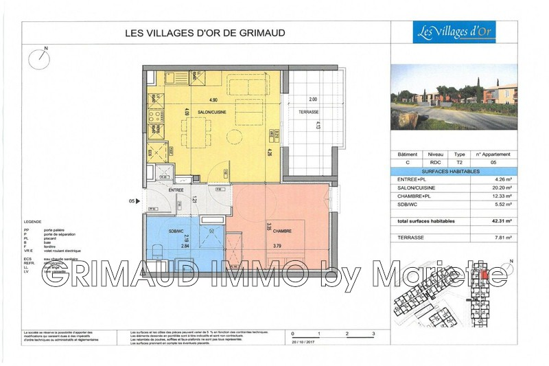 Photo n°3 - Vente appartement Grimaud 83310 - 232 800 €