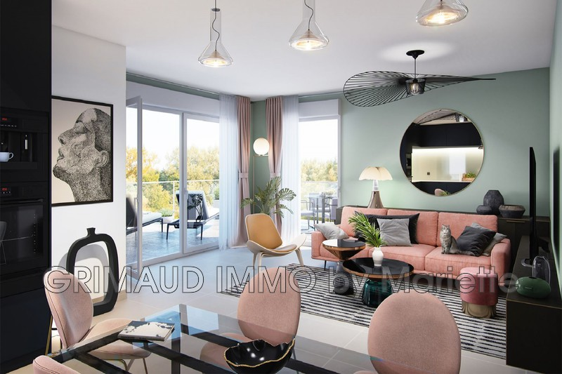 Photo n°3 - Vente appartement Cogolin 83310 - 252 000 €