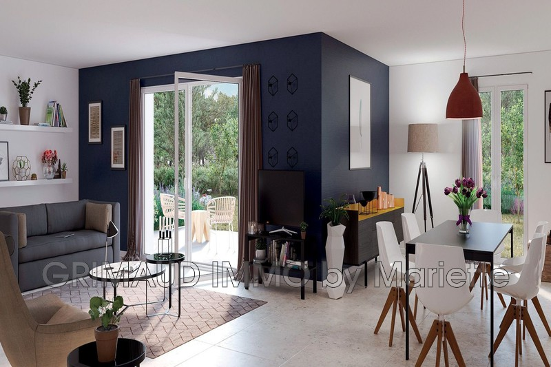 Photo n°1 - Vente appartement Cogolin 83310 - 361 600 €