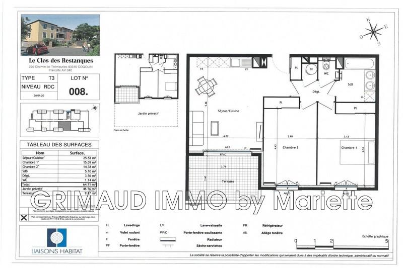 Photo n°2 - Vente appartement Cogolin 83310 - 340 320 €