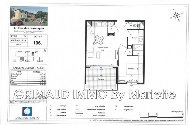 Photo n°2 - Vente appartement Cogolin 83310 - 235 040 €