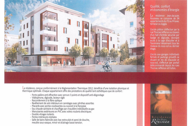 Photo n°2 - Vente appartement Nîmes 30000 - 252 000 €