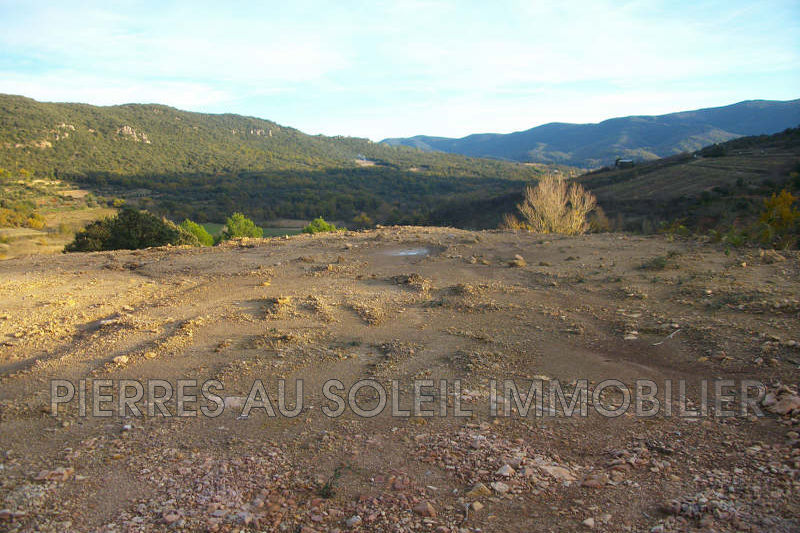 Photo Terrain Taussac-la-Billière Herault,   achat terrain   1096m²