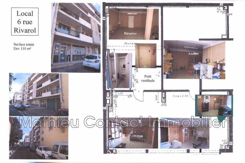 Photo Bureau Nîmes Centre-ville,  Professionnel bureau   110m²