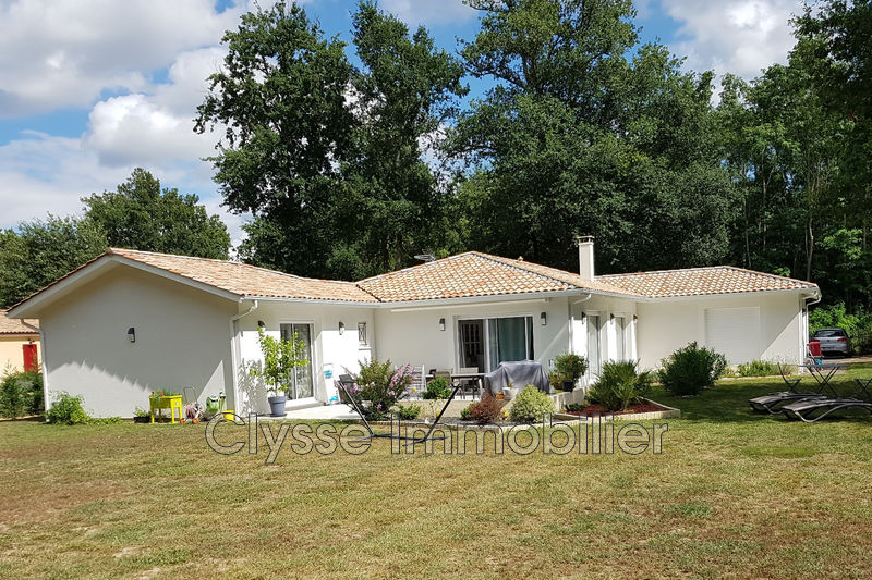 Photo Maison contemporaine Langon Sud gironde,   achat maison contemporaine  4 chambres   163 m²