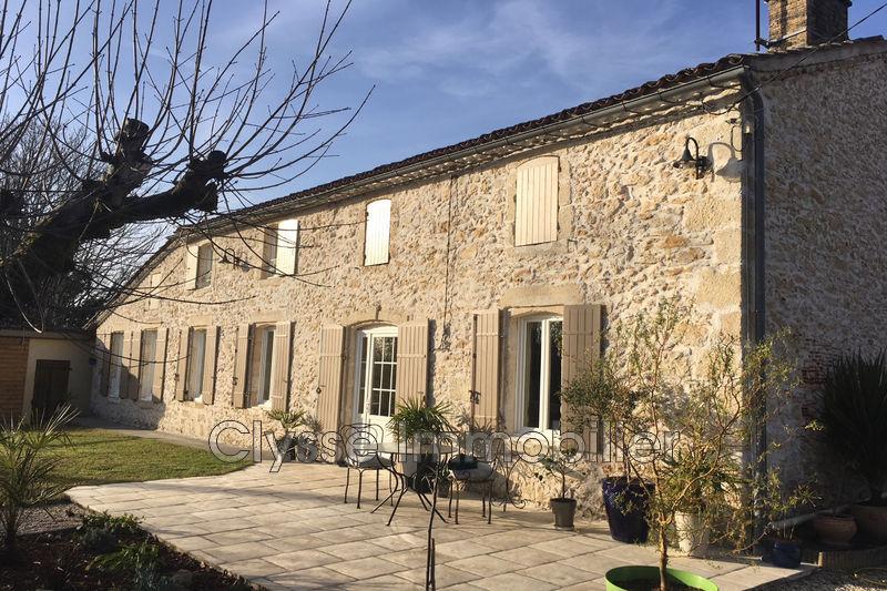 Photo Maison en pierre Sauternes Sud gironde,   achat maison en pierre  4 chambres