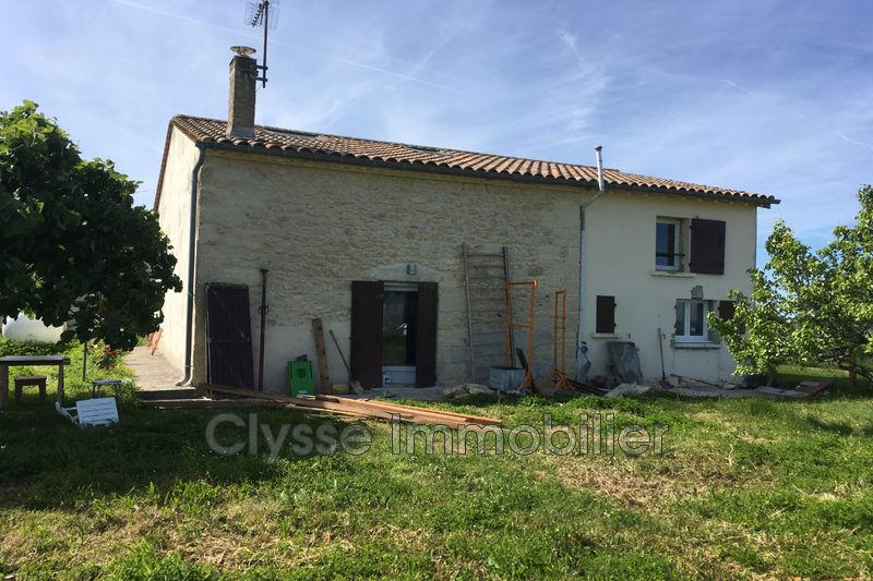 Photo Maison en pierre Rions Sud gironde,   achat maison en pierre  3 chambres   120m²