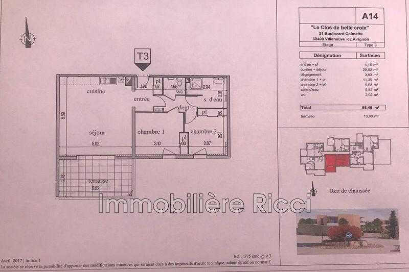 Photo n°2 - Vente appartement Villeneuve-lès-Avignon 30400 - 265 385 €
