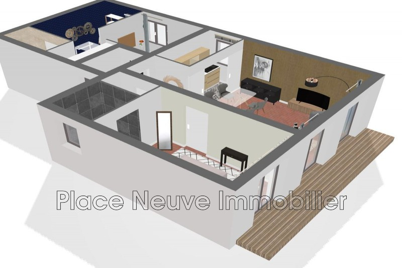 Photo n°2 - Vente appartement Grimaud 83310 - 198 500 €