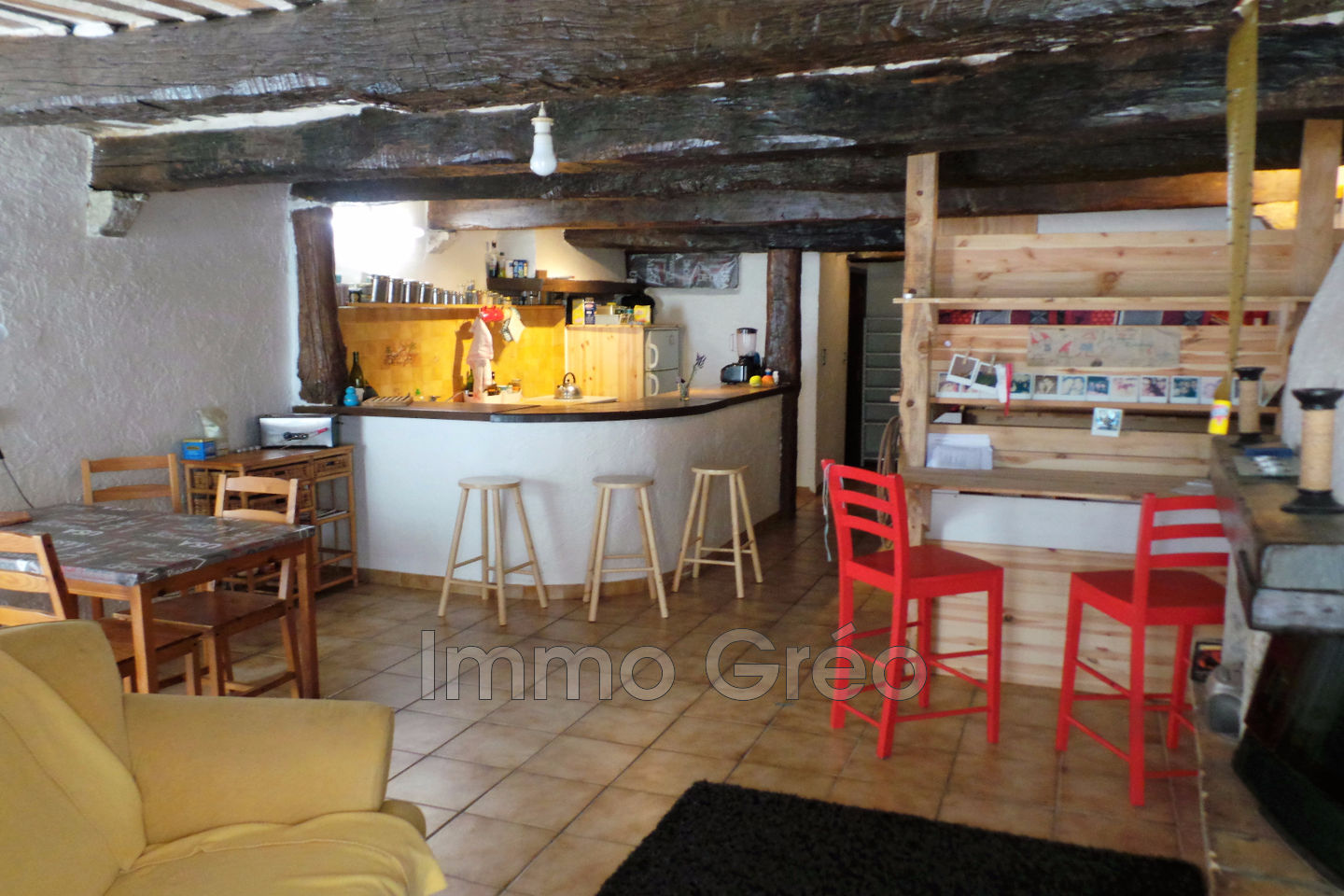 Vente appartement gr oli res 06620 80 000 for Annonce vente appartement