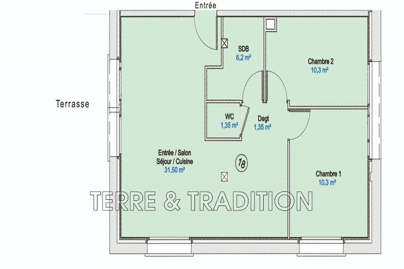 Photo Appartement Besançon Besançon,   achat appartement  3 pièces   61m²