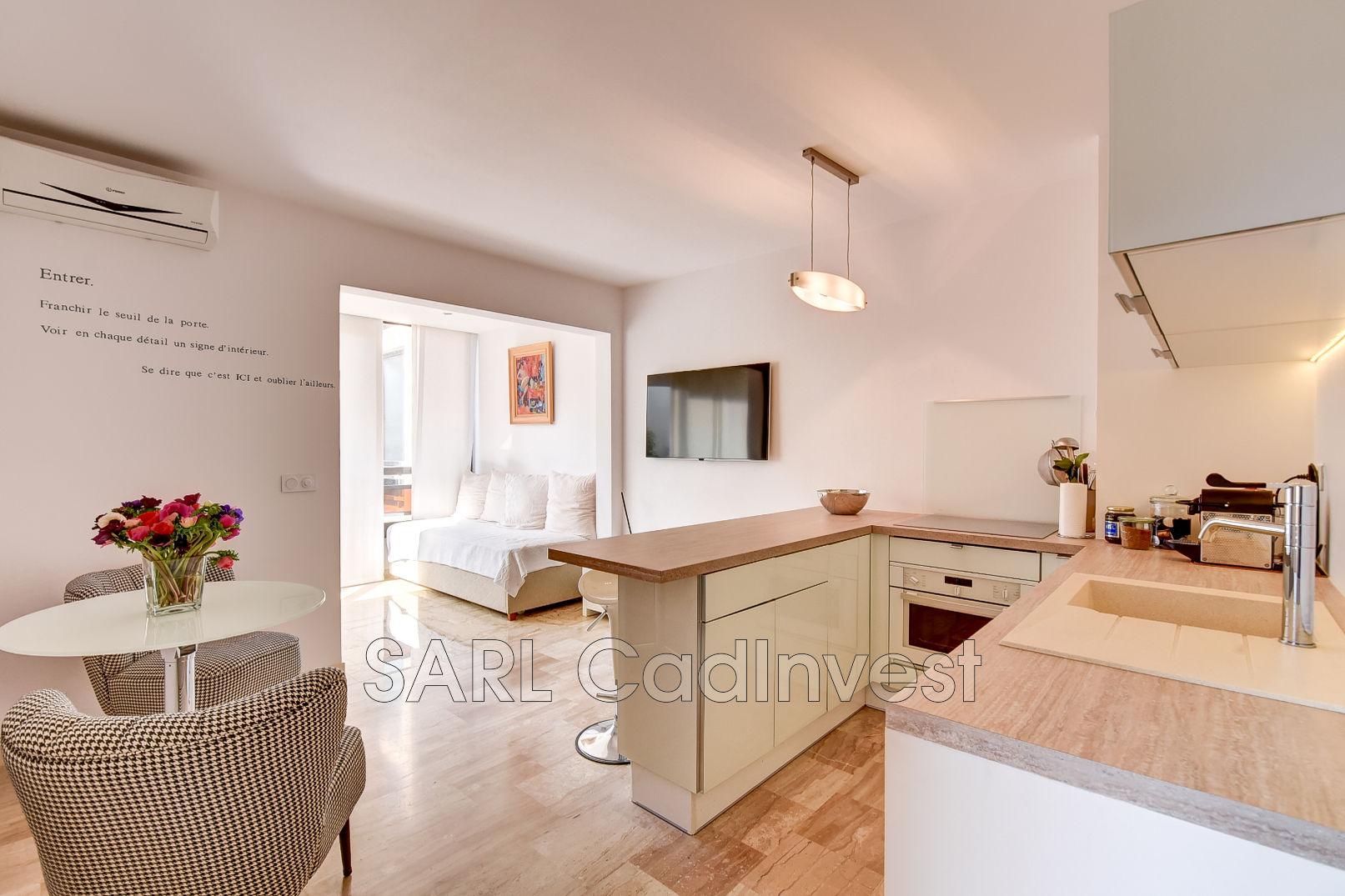 Architecte D Intérieur Cannes apartment cannes bord de mer, to buy apartment 1 room 33 m²