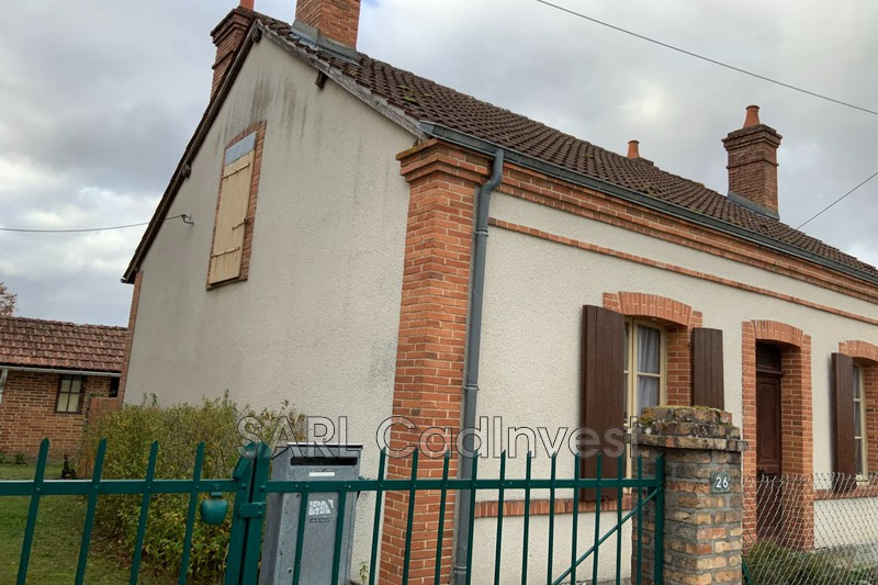 Photo n°2 - Vente maison de caractère Souesmes 41300 - 99 000 €