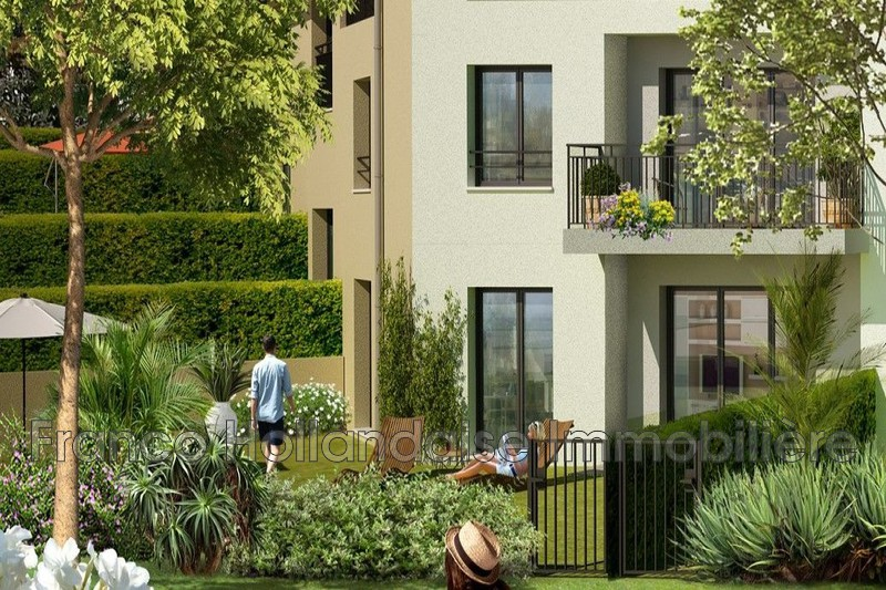 Photo Appartement Gattières   achat appartement  3 pièces   62m²