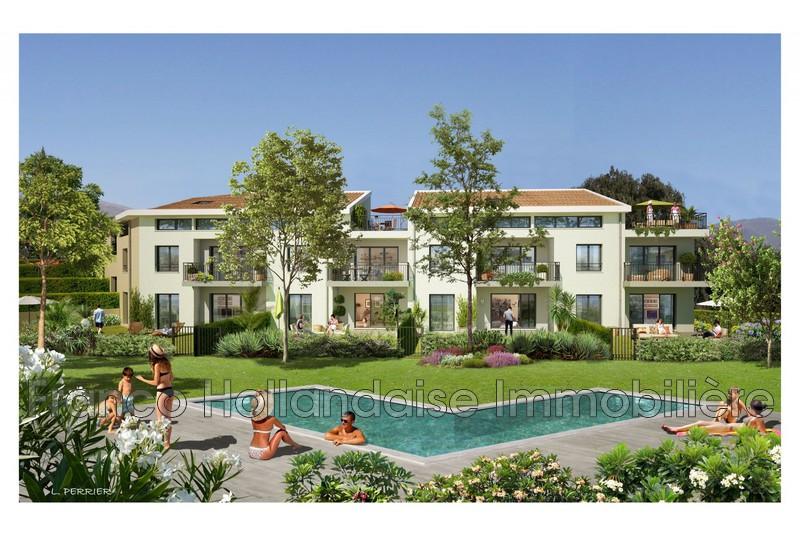 Appartement Gattières Résidentiel,   achat appartement  2 pièces   49m²