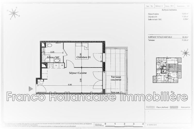 Photo n°3 - Vente appartement Grasse 06130 - 173 000 €