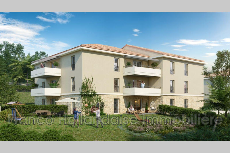 Photo n°1 - Vente appartement Grasse 06130 - 271 000 €