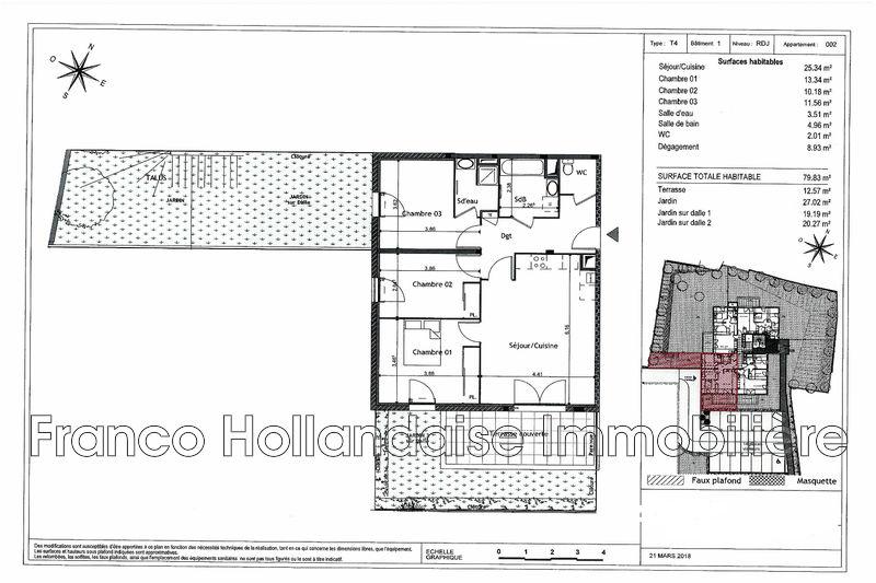 Photo n°2 - Vente appartement Grasse 06130 - 303 000 €