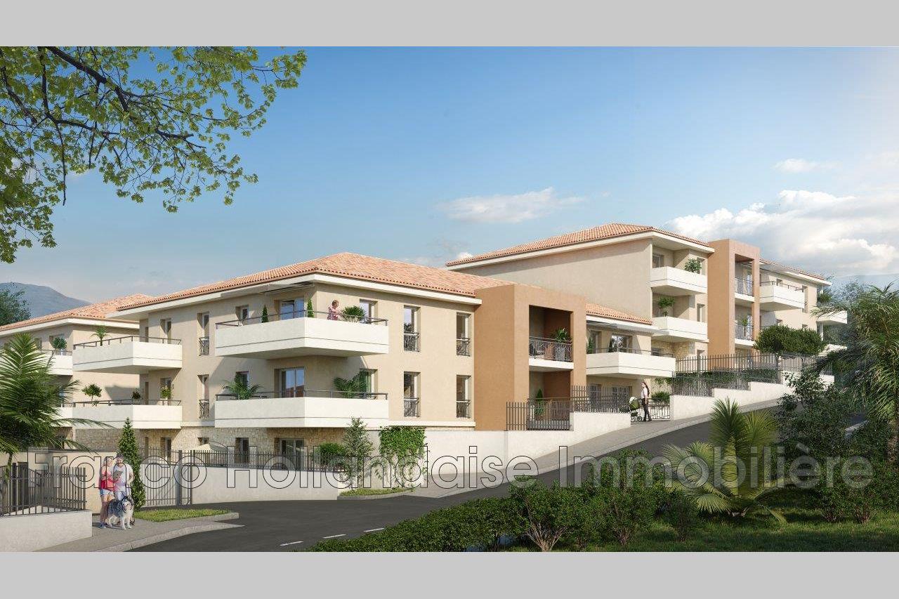 Apartment Grasse Entrée de ville, to buy apartment 2 rooms 53 m²