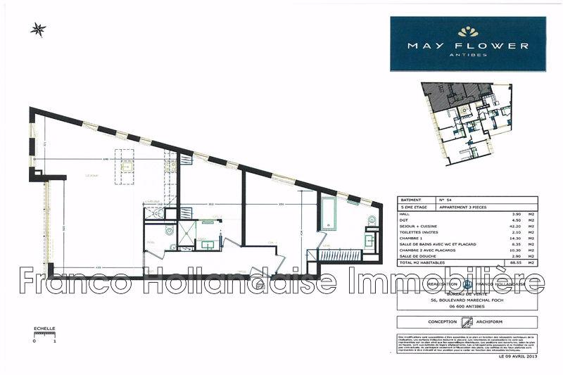 Photo n°12 - Vente appartement Antibes 06600 - 499 000 €