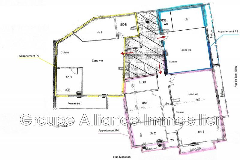 Photo n°2 - Vente appartement Nîmes 30000 - 226 500 €