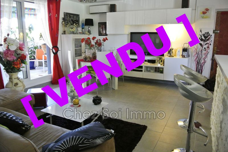 Photo Apartment Cagnes-sur-Mer Hippodrome,   to buy apartment  2 rooms   46 m²