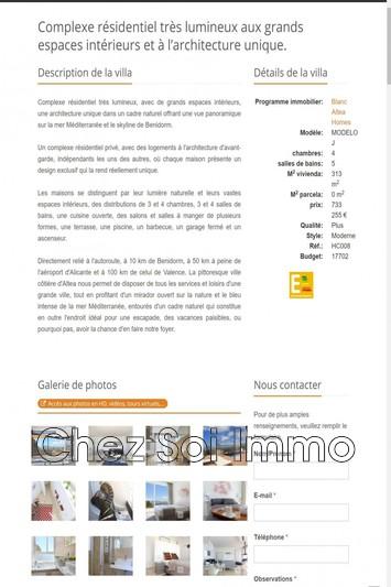 Photo Appartement Cumbre del Sol   achat appartement  3 pièces   313m²
