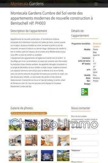 Photo Appartement Cumbre del Sol   achat appartement  3 pièces   177m²