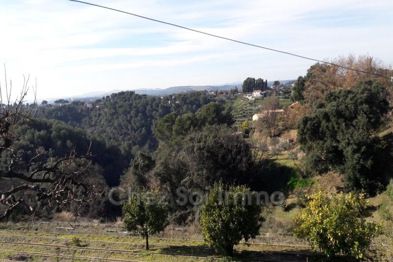 Photo n°2 - Vente terrain à bâtir Cagnes-sur-Mer 06800 - 472 500 €