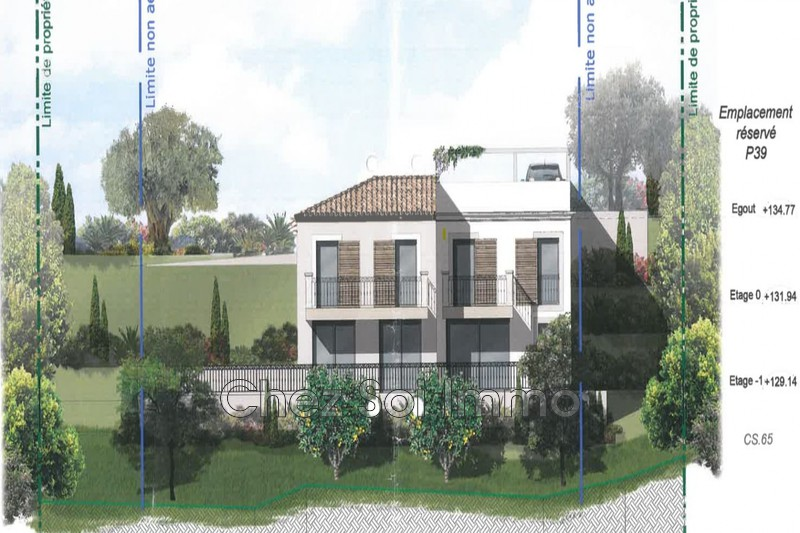 Terrain à bâtir Cagnes-sur-Mer   to buy terrain à bâtir   951m²