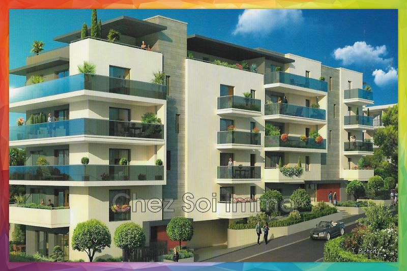 Photo Appartement Cagnes-sur-Mer Lautin,   achat appartement  2 pièces   41m²