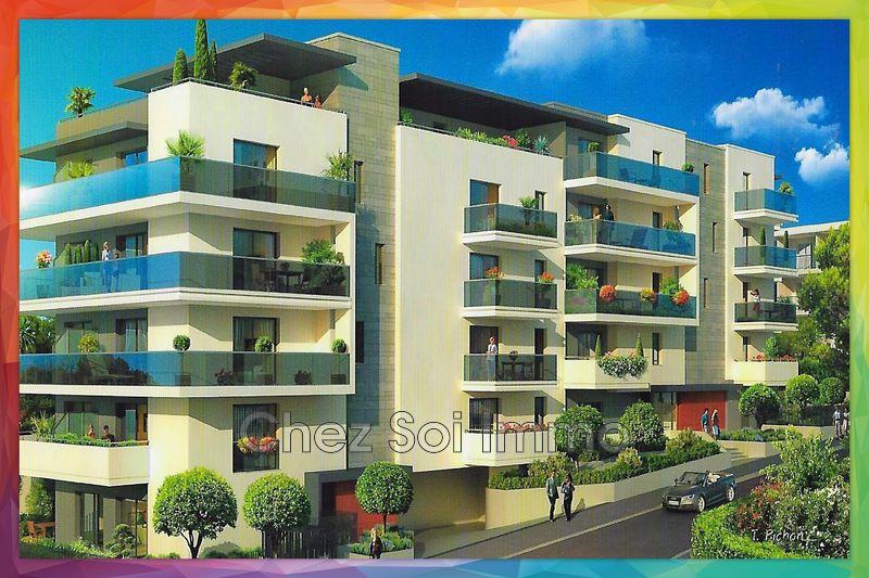 Photo Appartement Cagnes-sur-Mer Lautin,   achat appartement  3 pièces   62m²